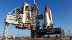 Startklar: Space Shuttle Endeavour in Cape Canaveral.