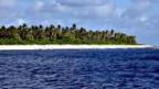 Küstengebiet einer Insel des Pazifikstaats Kiribati.