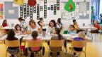 Studienterror: Diesen Kindern ist der Apetit noch nicht vergangen.