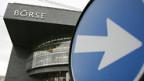 Auf? Ab? Die Schweizer Börse SWX in Zürich.