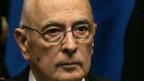 Staatspräsident Giorgio Napolitano soll die Krise bewältigen.