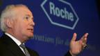 Roche-Präsident Franz B. Humer ist erfreut über das ausgezeichnete Ergebnis.