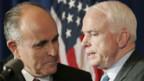 Giuliani (links) unterstützt McCain
