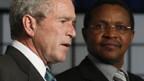 US-Präsident George Bush (l.) und Tansanias Präsident Jakaya Kikwete.