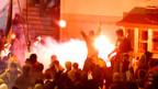 Gewalttätige Attacke auf US-Botschaft in Belgrad