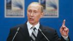 Vladimir Putin am Nato-Gipfel.