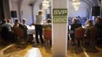 SVP auf Werbetour mit neuen Strategien und Ziele.