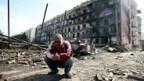 Russland hat in Georgien ganze Dörfer unter Beschuss genommen.