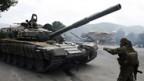 Im Kaukasus wird weiter gekämpft.