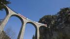 Die RhB-Strecke ist von der Unesco ins Weltkulturerbe aufgenommen worden.