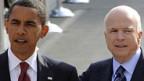 Nutzen die Finanzkrise als Wahlkampfthema: Barack Obama (l.) und John McCain.