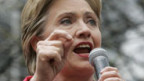 Hillary Clinton im Wahlkampf.