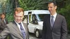 Al-Assad bei seinem russischen Amtskollegen Dmitri Medwedew.