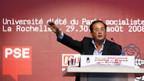 Sozialisten-Chef François Hollande in La Rochelle.