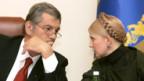 Keine gemeinsamen Ziele mehr: Julia Timoschenko und Viktor Juschtschenko.