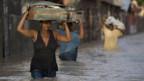 Am schlimmsten wütete bislang «Ike» in Haiti.