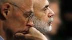 Paulson und Bernanke im Bankenausschuss des US-Senats.