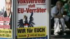 Wahlkampf in Österreich.