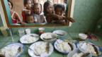 Armenküche auf den Philippinen.