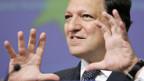 José Manuel Barroso an der Sonderkonferenz zur Finanzkrise.