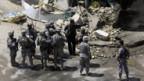 Nach dem Anschlag einer Selbstmordattentäterin in Bakuba im August 2008.