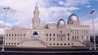 Die grosse Moschee im Friedensdorf.