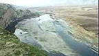 Die Gegend um den geplanten Staudamm.