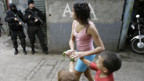 Verbrechensbekämfpgung in Rio de Janeiro.