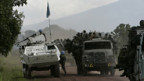 Uno-Truppen unterstützen die kongolesische Armee.