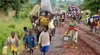 Flüchtlinge im Osten Kongos.
