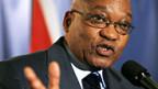 Der neue ANC-Präsident Jacob Zuma.