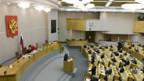 Das russische Parlament stimmt für längere Amtszeit des Präsidenten.