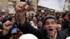 Protest in Pristina.