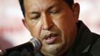 Venezuelas Staatspräsident Hugo Chávez.