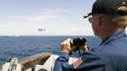 Von US-Navy gestellter Begleitschutz.