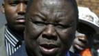 Oppositionsführer Morgan Tsvangirai.