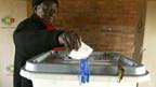 Keine Wahl ausser Robert Mugabe.