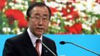 Ban Ki Moon auf der Uno-Klimakonferenz in Posen.