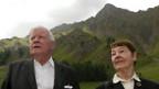 Unzertrennlich: Helmut Schmidt mit Ehefrau Hannelore.