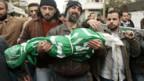 Trauer um das vierjährige Opfer eines israelischen Luftangriffs.