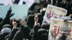 Protest in Sanaa: In Jemens Hauptstadt demonstrieren tausende Frauen gegen die Luftangriffe auf Gaza.