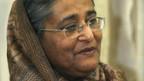 Die Partei von Sheikh Hasina Wajed gewinnt.