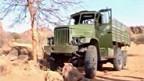 Chinesischer Armeetransporter in Sudan.