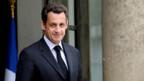 Test für Nicolas Sarkozy.