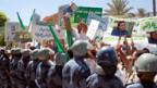 Libyer protestieren in Tripolis gegen die Schweiz.