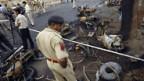 Bombenanschlag in der westindischen Stadt Ahmadabad.