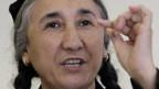 Rebiya Kadeer, uigurische Menschenrechtsaktivistin.