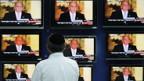 Israels Premier Olmert kündigt Rücktritt an.