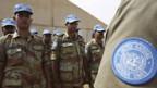 Ägyptische Soldaten unterstützen die Blauhelmtruppe Unamid.