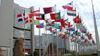 Sitz der IAEA in Wien.